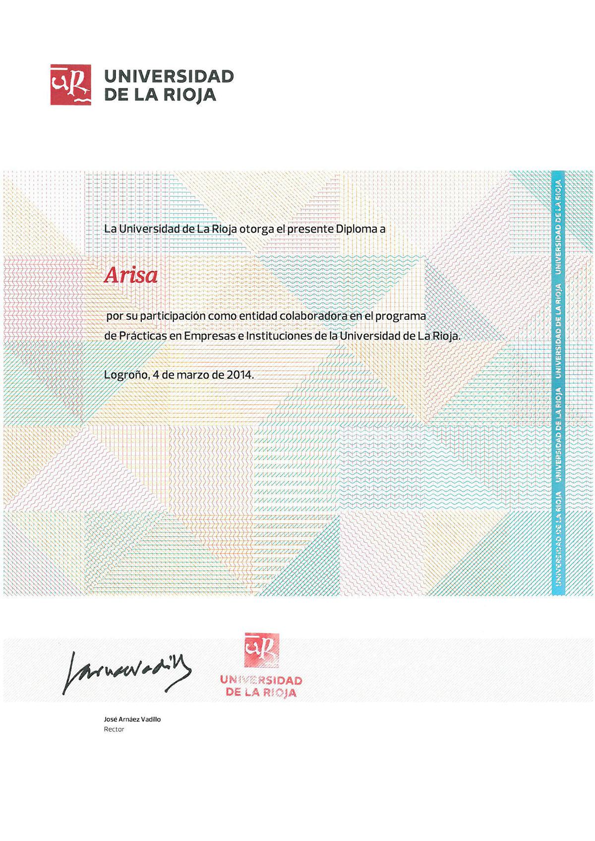 Diploma ARISA_uni la rioja_1