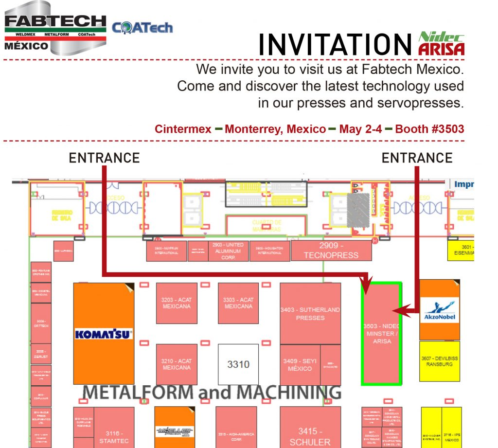fabtech mexico invitation